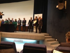 cmprever-300x225 Carlos Martínez recoge la medalla de oro en los Premios Prever 2012
