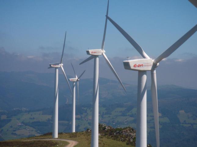 Campo-ecolico-EON Generar hidrógeno con energía eólica e inyectarlo en la red de gas