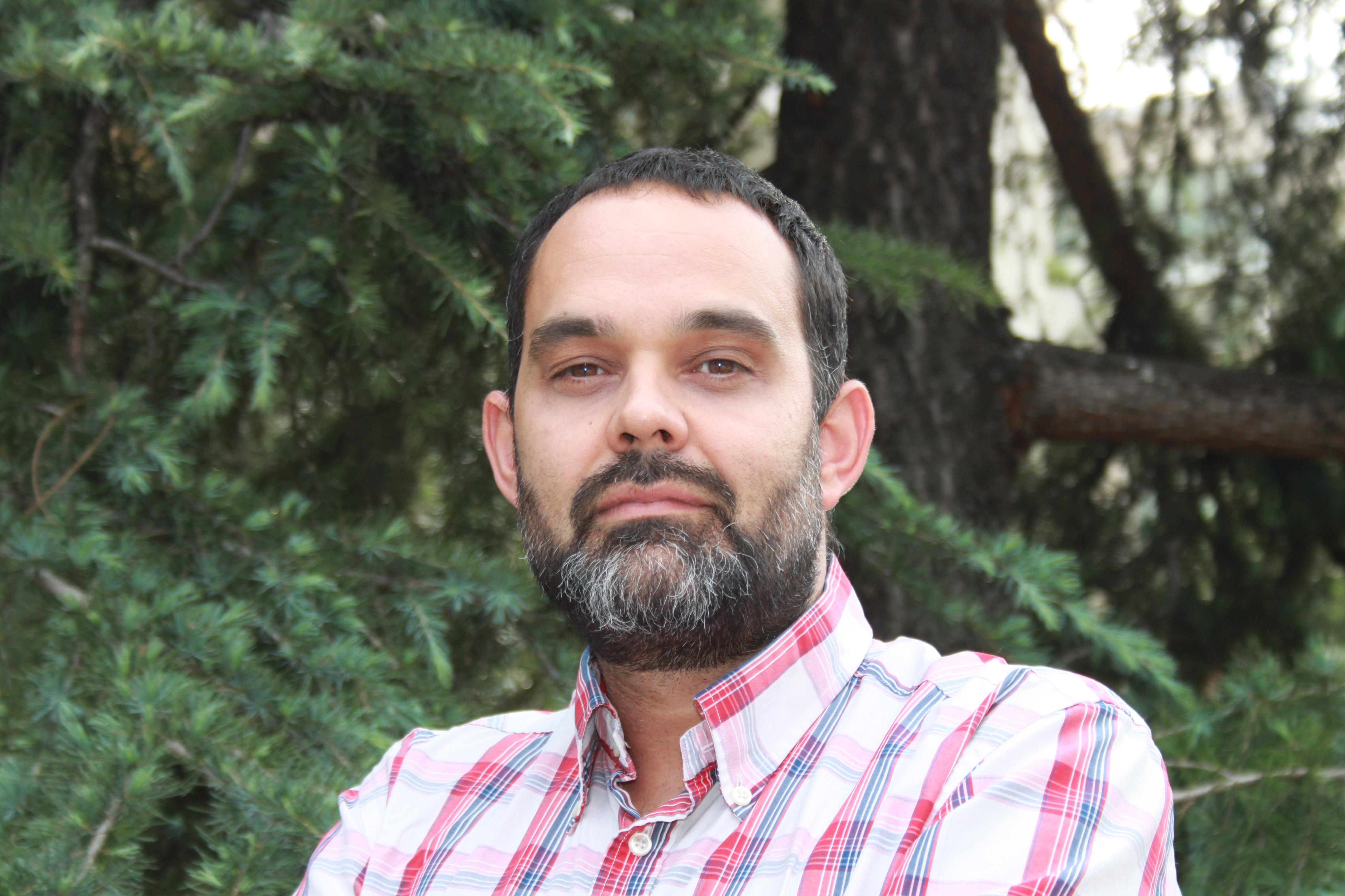 Daniel Muñoz, tutor del Máster de Medio Ambiente
