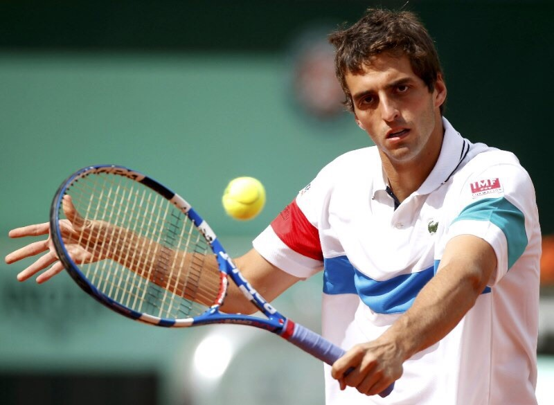 Albert-Ramos-IMF Albert Ramos, tenista patrocinado por IMF, derrota a Federer en  el Masters 1.000 de Shangái