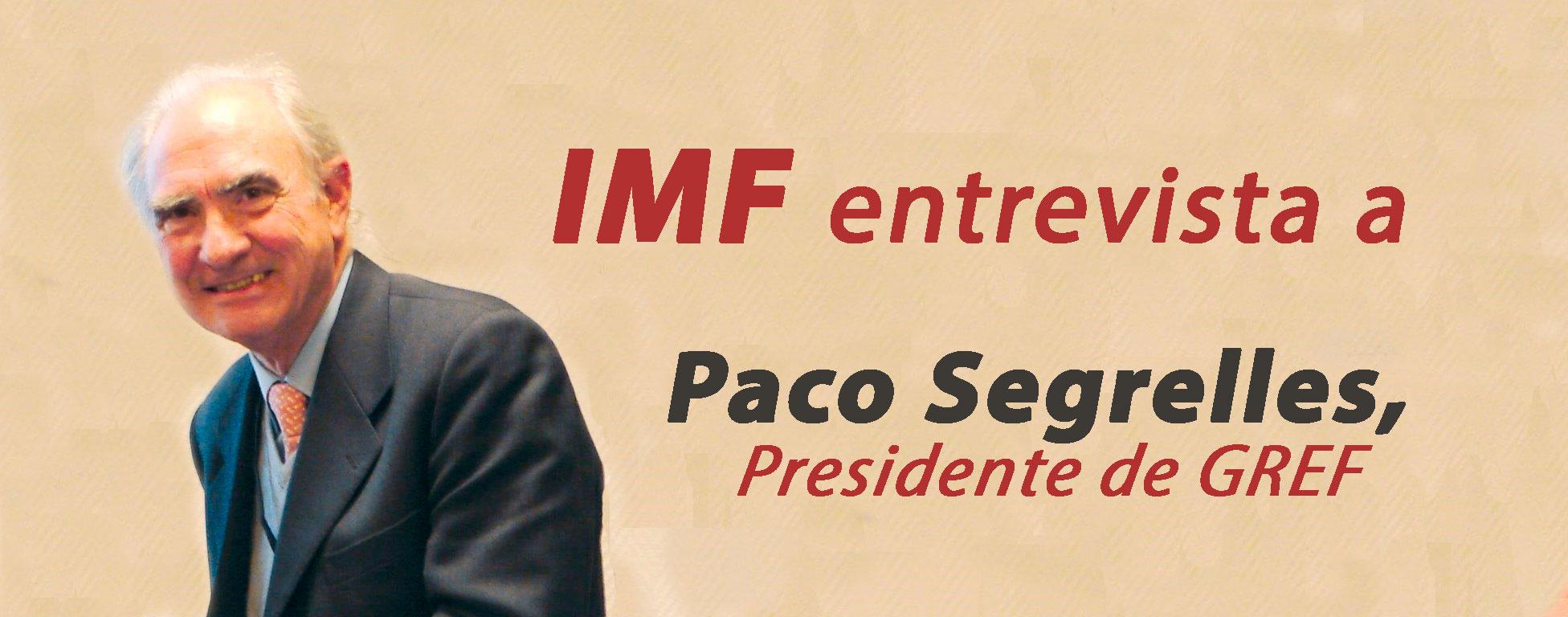 entrevista-paco-segrelles Paco Segrelles, Presidente de GREF