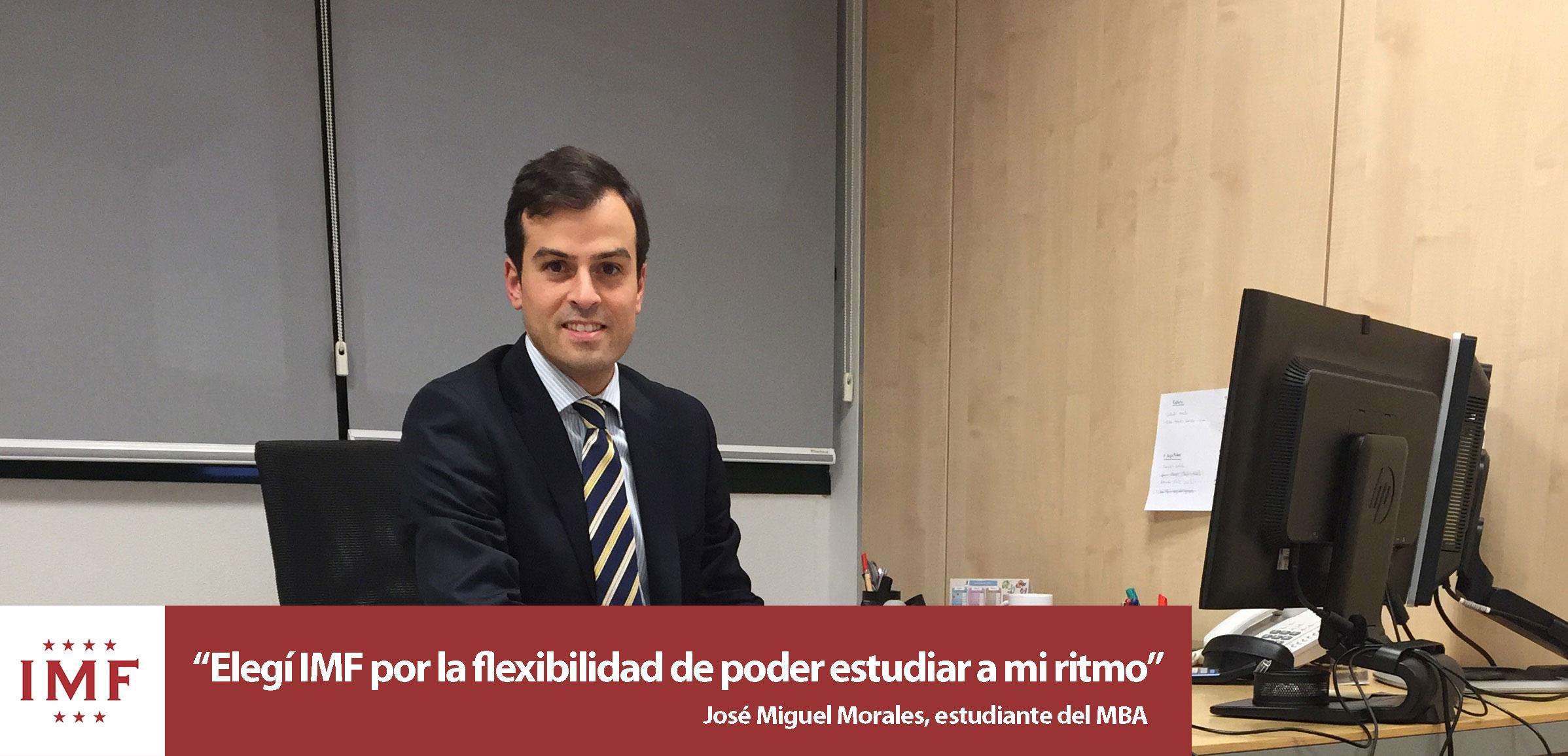Entrevista Alumni: José Miguel Morales, alumno de MBA