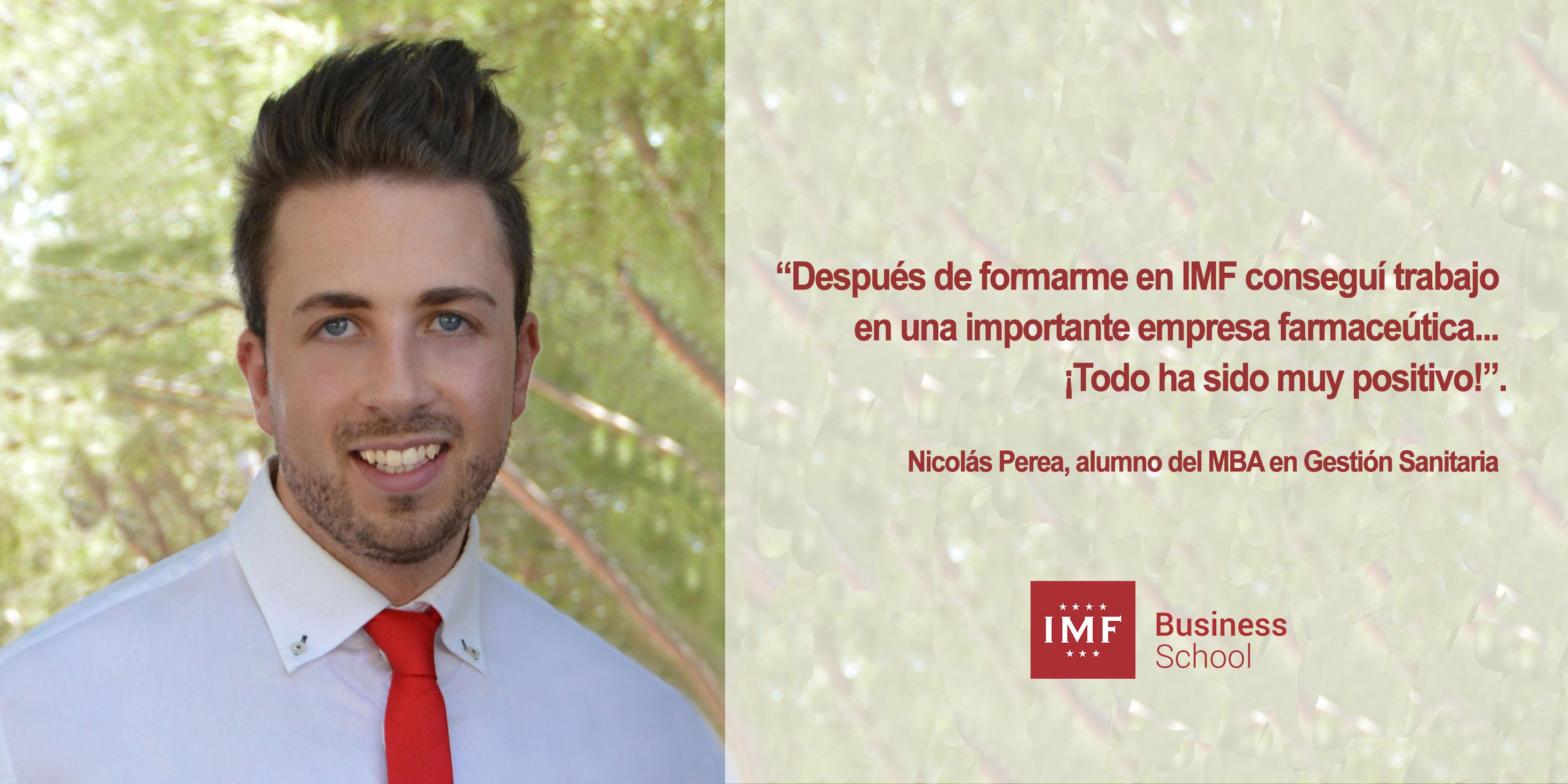 opinion-alumno-imf Entrevista Alumni: Nicolás Perea, alumno de MBA en Gestión Sanitaria