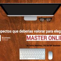 Como elegir el mejor Master online