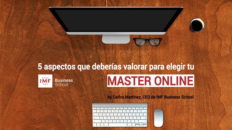 master-online Como elegir el mejor Master online
