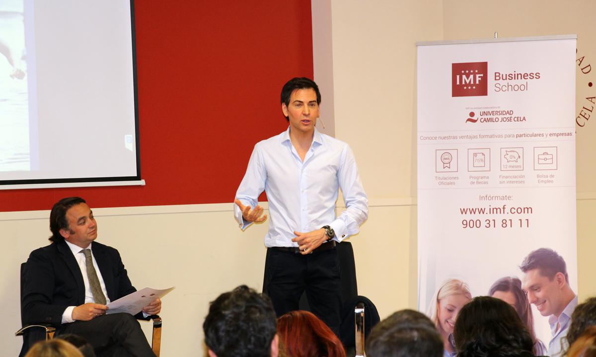 david-meca-imf-0 David Meca derrocha motivación en su Conferencia Magistral en IMF