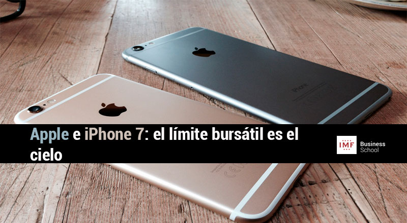 Apple-e-iPhone-7 Apple e iPhone 7, el límite bursátil es el cielo