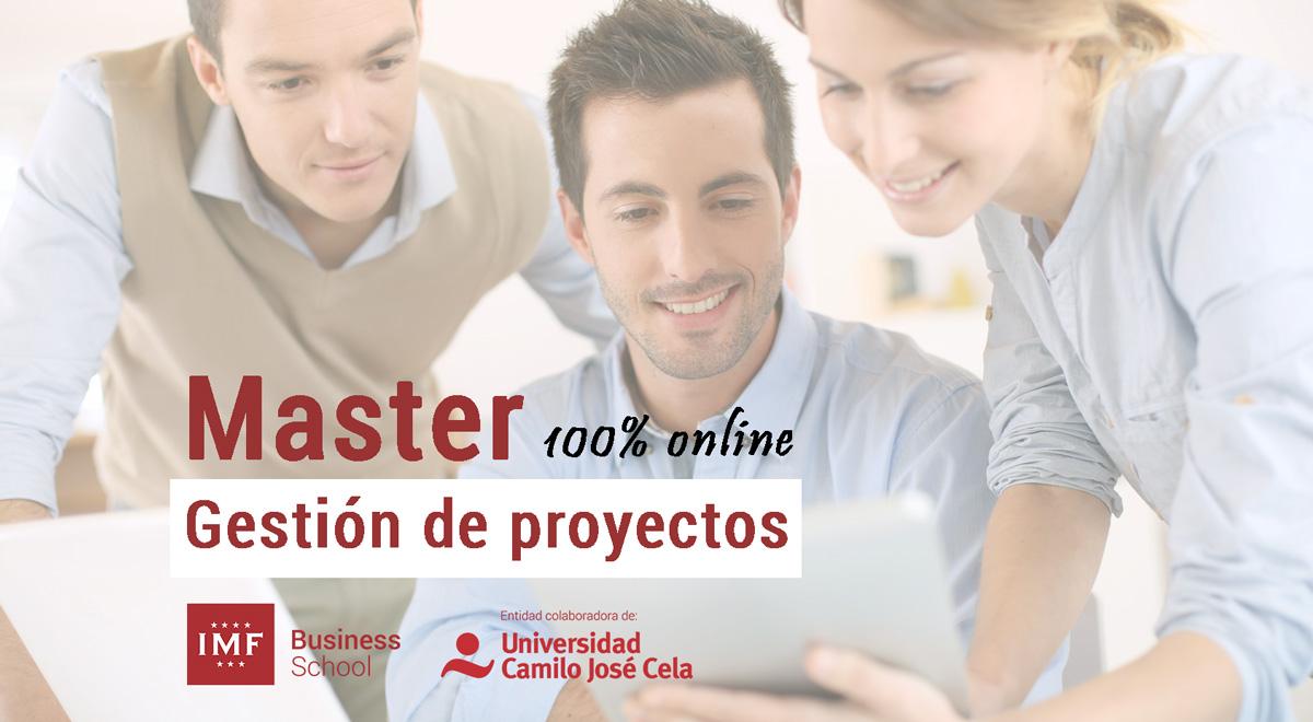 Máster en gestión de proyectos (online)