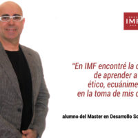 """julio-perez-entrevista-imf-200x200 Encuentro alumni con Julio Pérez: """"En IMF encontré la oportunidad de aprender a ser un líder ético"""