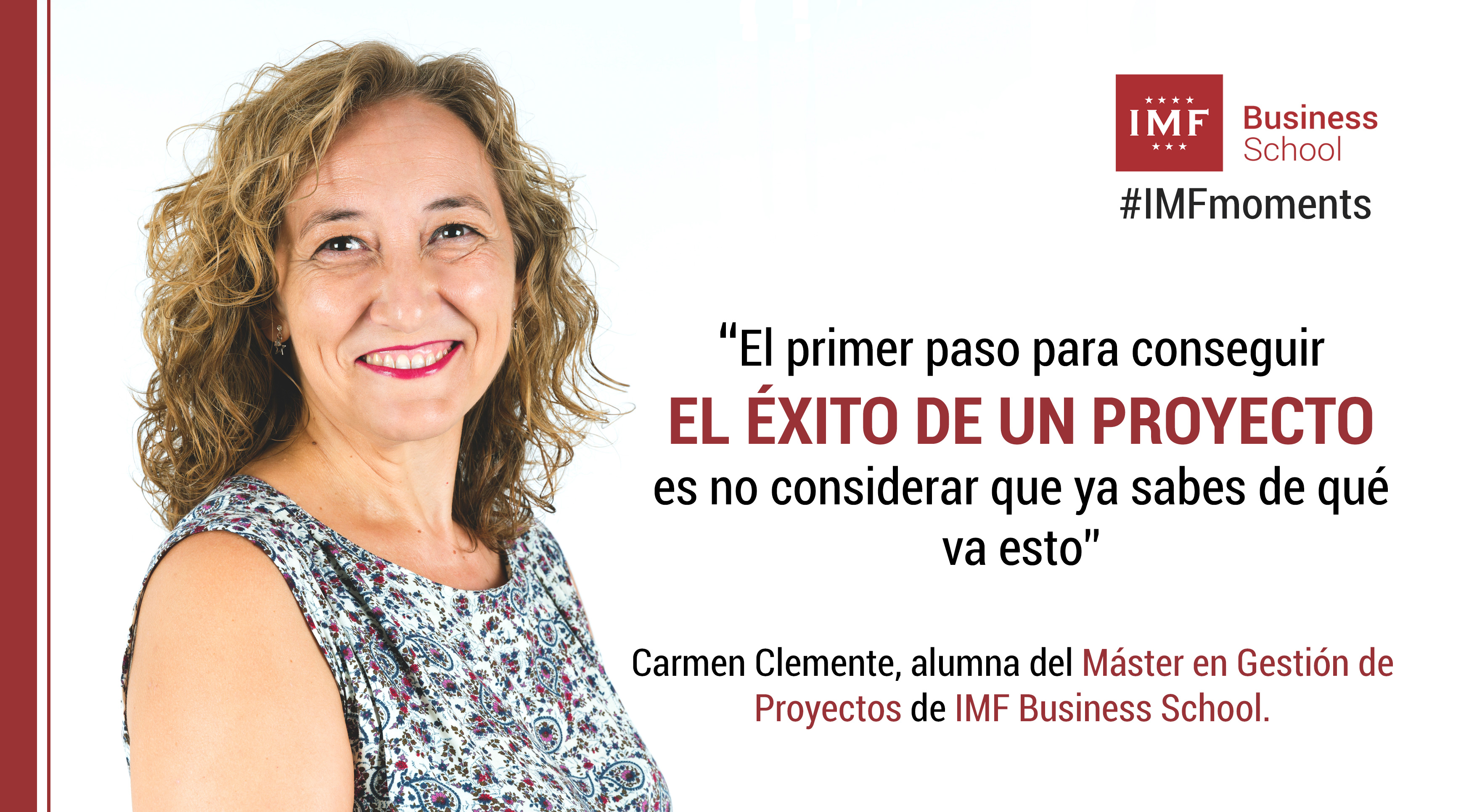 entrevista-carmen-clemente-gestion-de-proyectos Entrevista Alumni: Carmen Clemente, alumna del Máster en Gestión de Proyectos