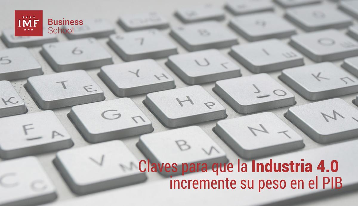 industria-digital Claves para que la Industria 4.0 incremente su peso en el PIB