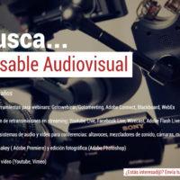 responsable-audiovisual-200x200 ¡Buscamos un responsable audiovisual!