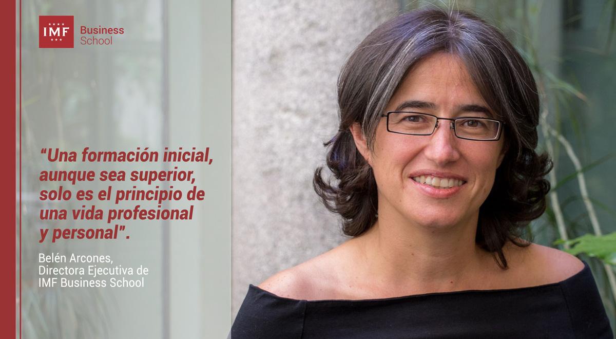 Entrevista sobre educación a Belén Arcones, Directora Ejecutiva de IMF