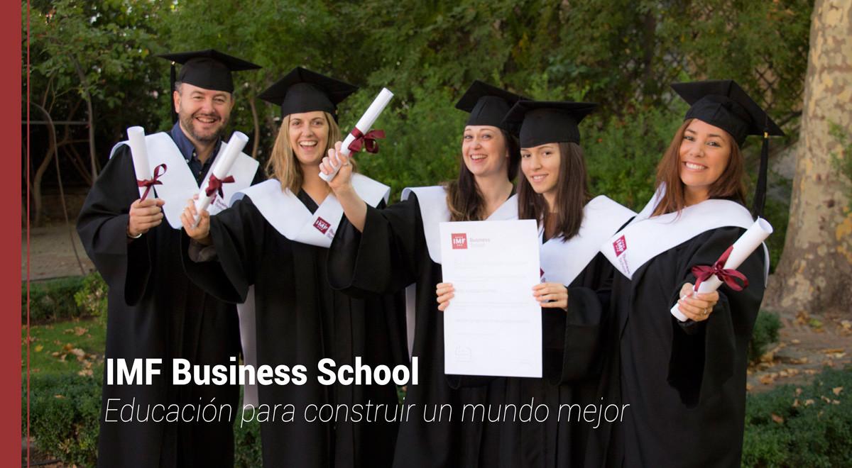 IMF Business School Masters y posgrados propios y oficiales