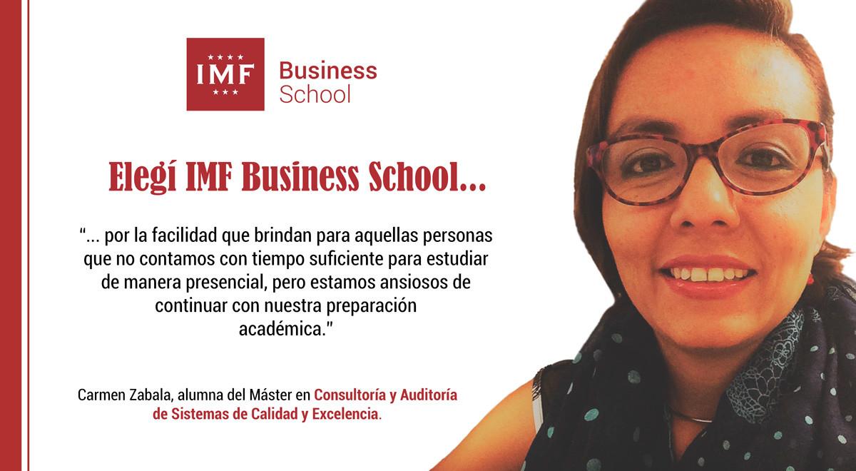 opinion-alumna-gestion-calidad Entrevista Alumni: Carmen Zabala, alumna del Máster en Gestión de la Calidad