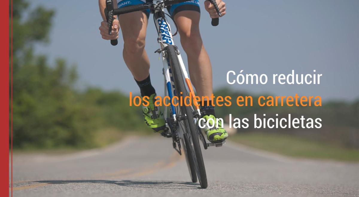 Cómo reducir los accidentes en carretera con las bicicletas