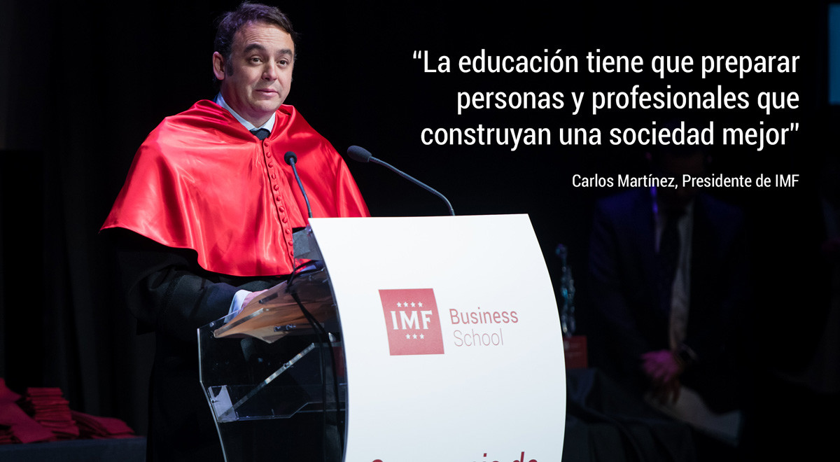 carlos-martinez-frases Las mejores frases de Carlos Martínez, en su discurso en la Graduación de IMF