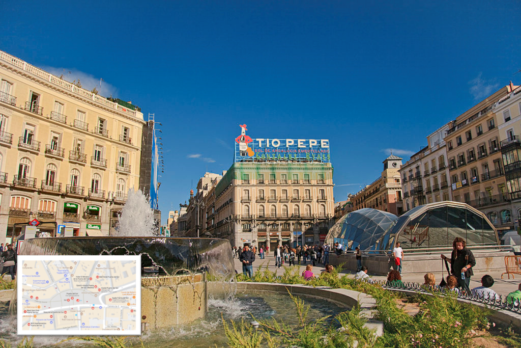 Los mejores planes para soportar el verano en madrid for Puerta del sol 2017