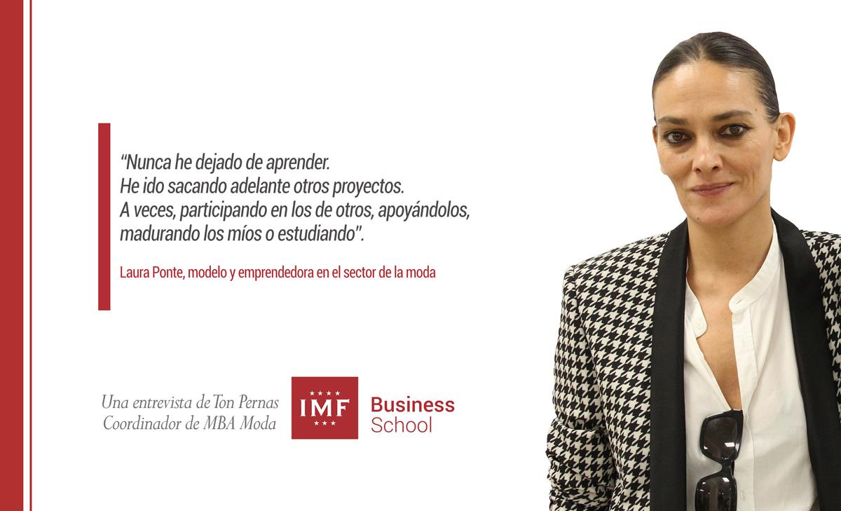 entrevista-laura-ponte Laura Ponte: La moda es un negocio y no debe considerarse un capricho