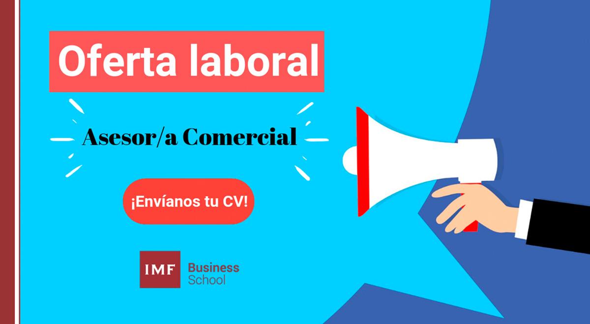 oferta-laboral-asesor-comercial Oferta de empleo: ¡Se buscan asesores comerciales!