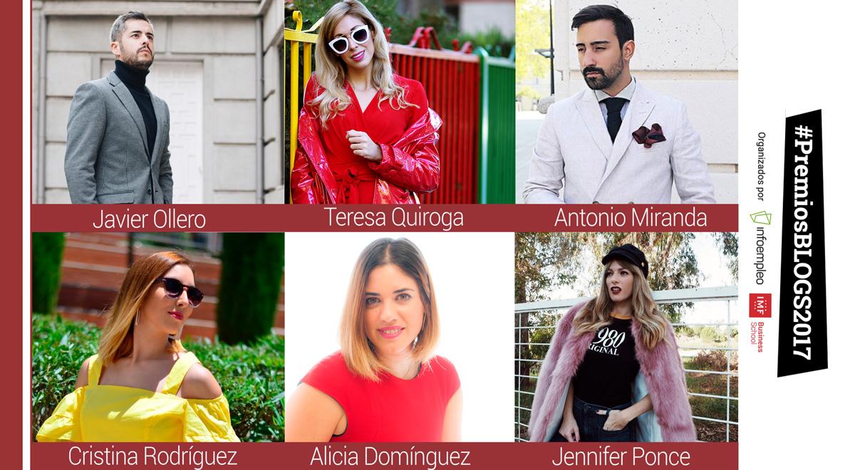 BLOGGERS-MODA #PremiosBlogs2017: Conoce a los nominados de la categoría de moda