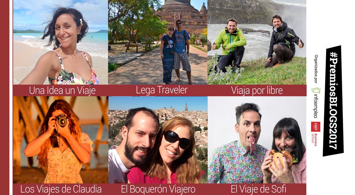 #PremiosBlogs2017: Conoce a los nominados de la categoría de turismo
