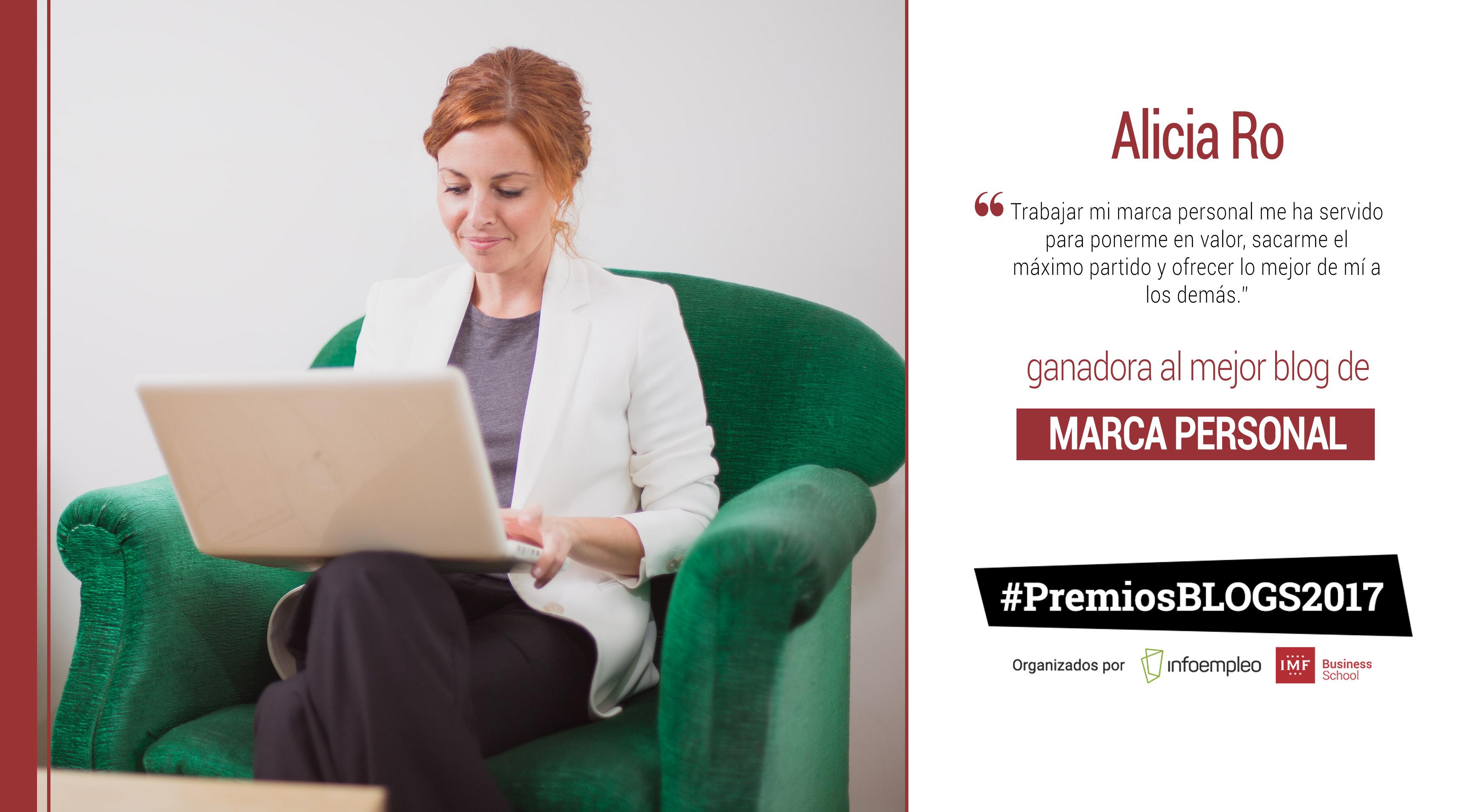 alicia-ro-ganadora-blog-marca-personal Alicia Ro, mejor blog de marca personal en los #PremiosBlogs2017