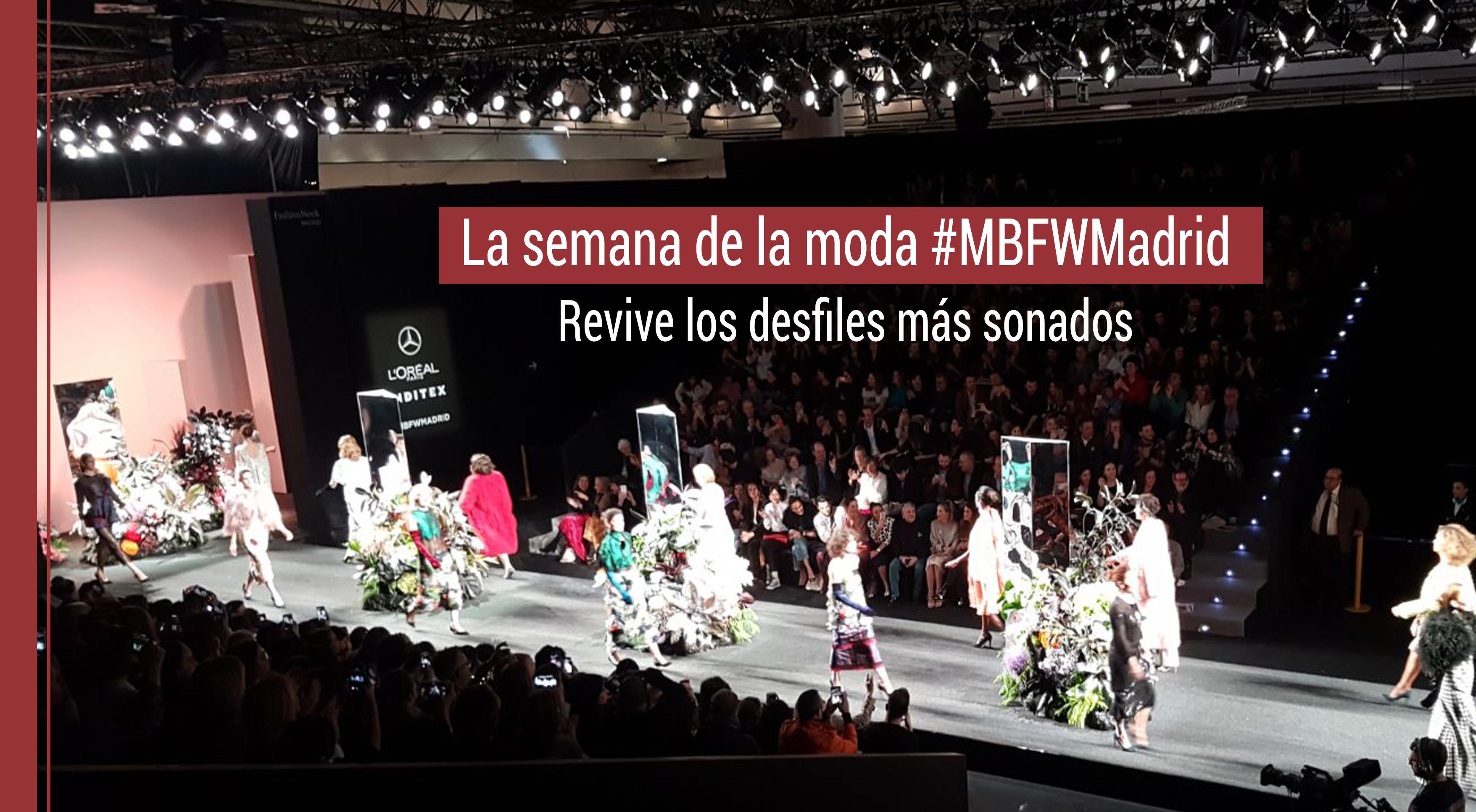 desfiles-semana-moda-madrid Los desfiles más sonados de la semana de la moda en Madrid
