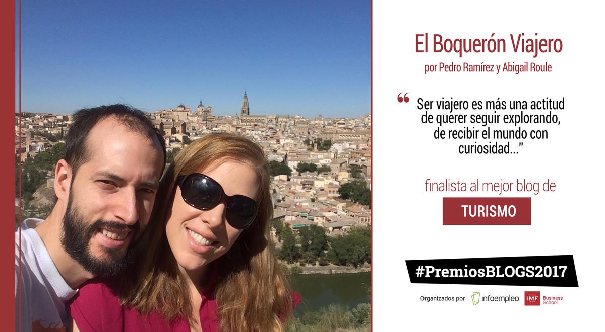 El Boquerón Viajero, finalista a mejor blog de turismo en los #PremiosBlogs2017