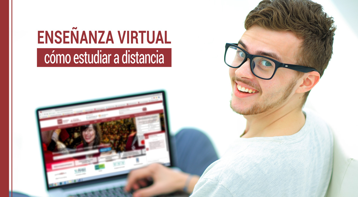 como estudiar a distancia mediante ensenanza virtual