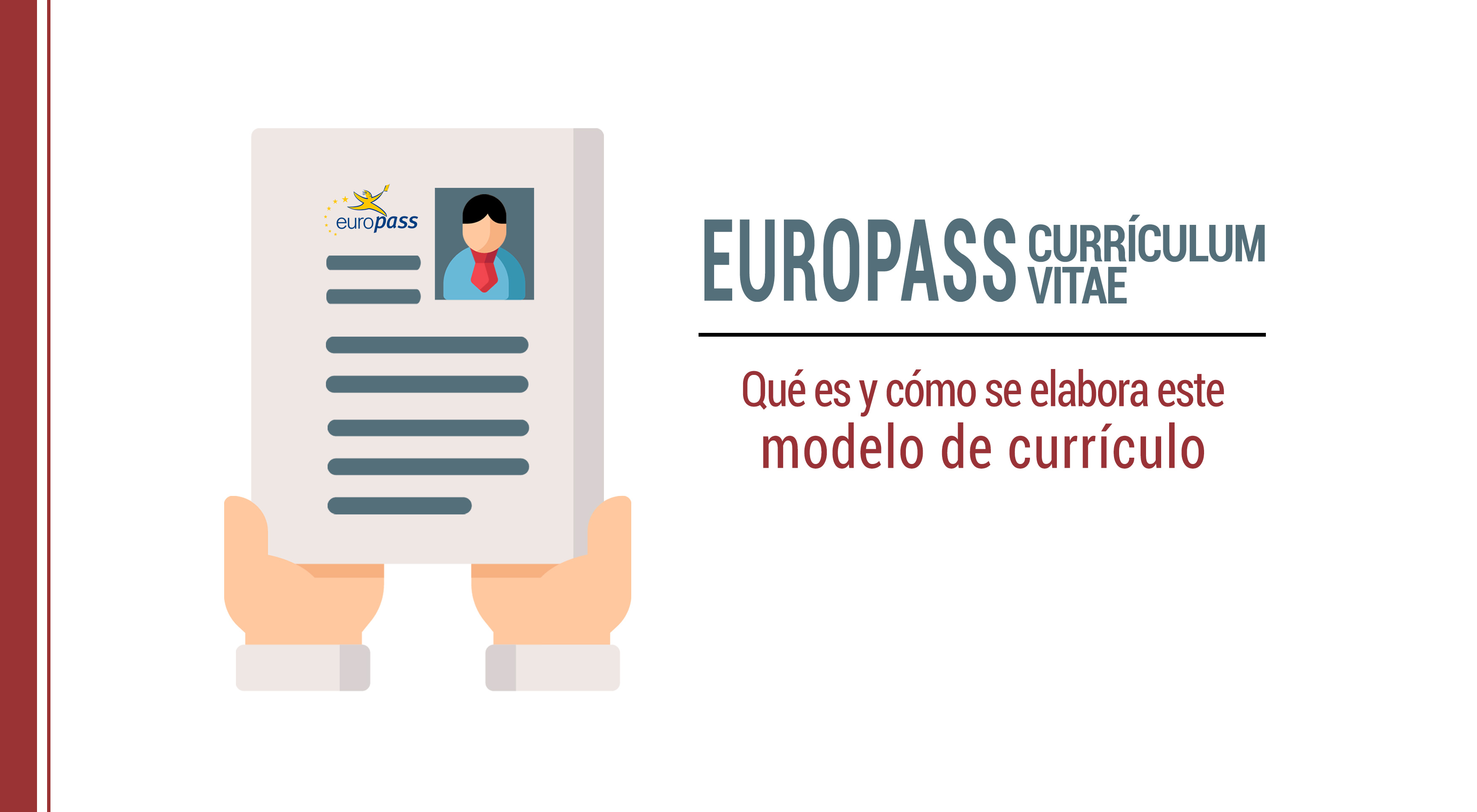 Europass CV: qué es, ejemplos e instrucciones