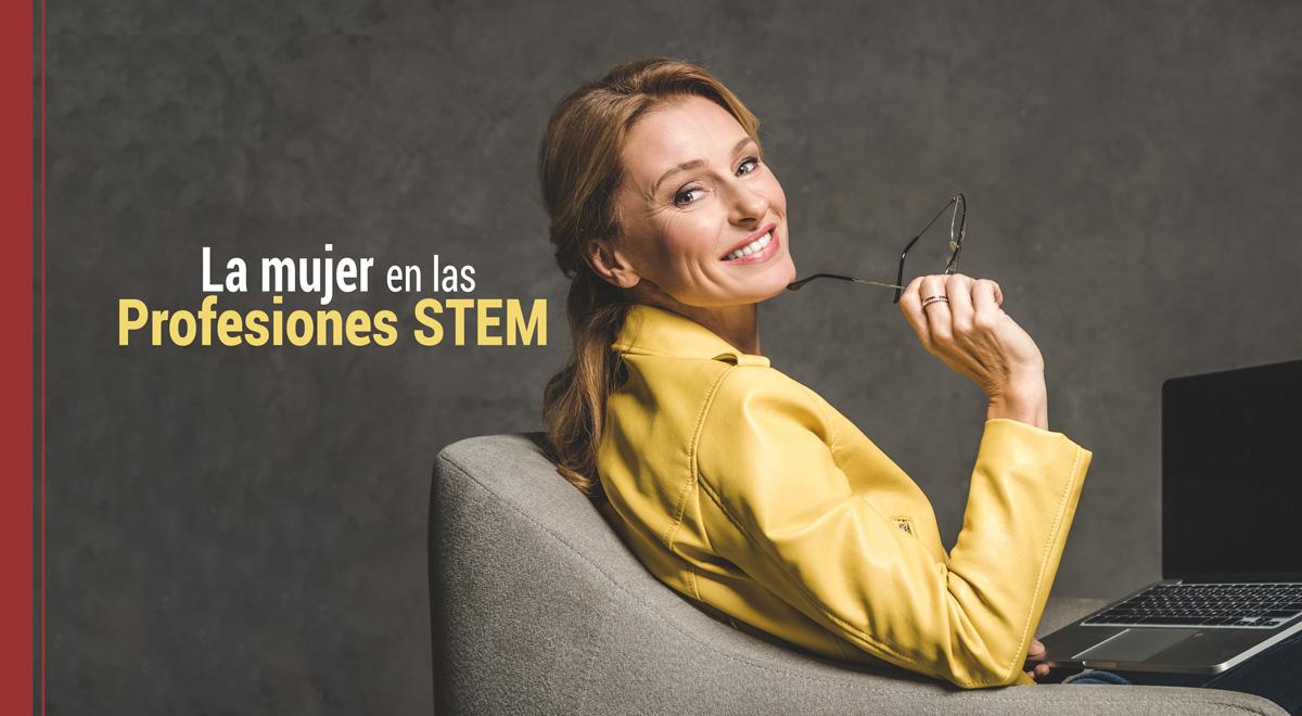mujer-profesiones-stem Presencia de las mujeres en las Profesiones STEM