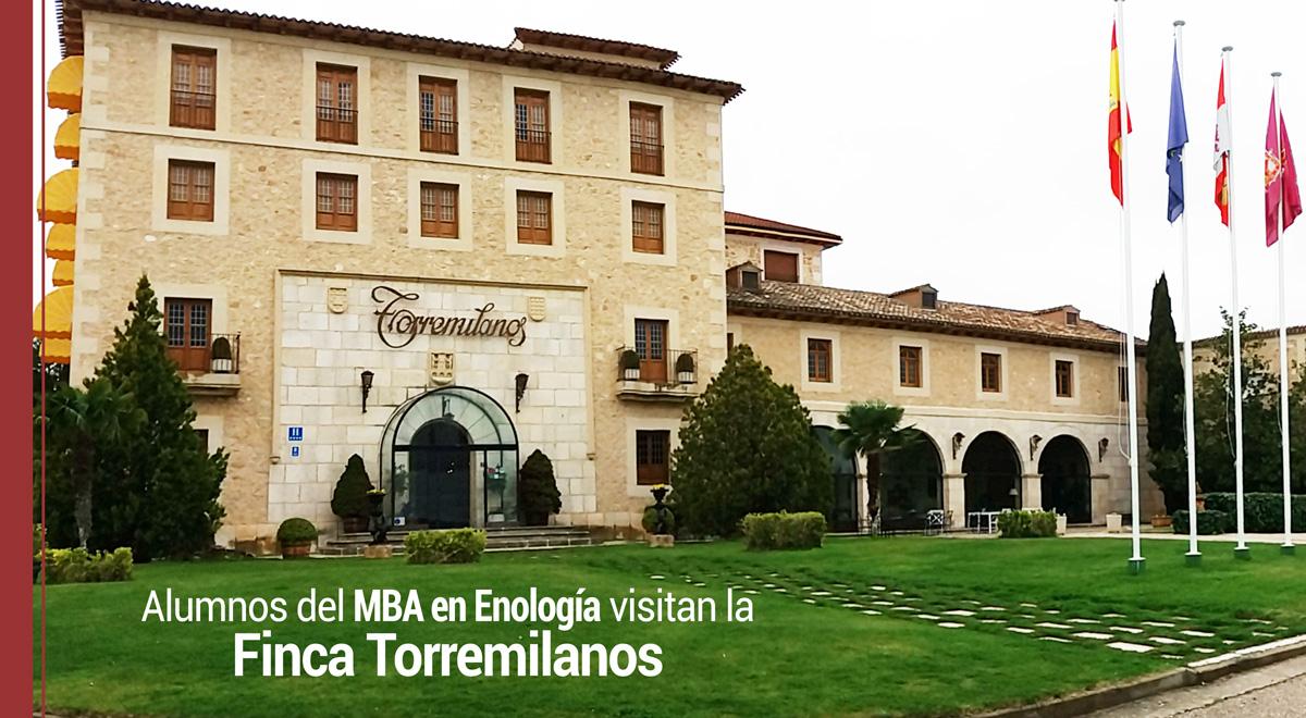 alumnos-mba-enologia-visita-finca-torremilanos Nuestros alumnos conocieron la tradición vinícola de la Finca Torremilanos