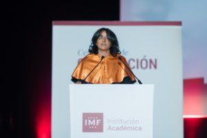 belen-arcones-imf-institucion-academica-graduacion-2018-1-300x200 Belén Arcones en la Graduación IMF 2018: Un discurso lleno de agradecimientos y compromisos