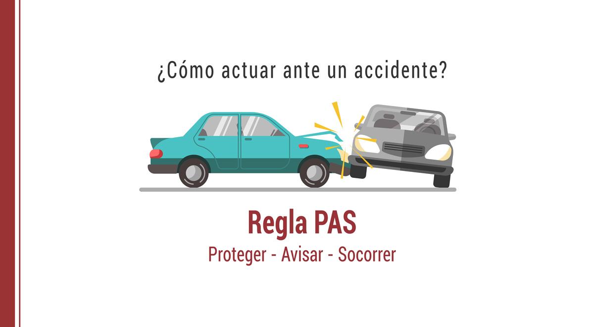 como-actuar-ante-accidente-regla-pas Cómo actuar en un accidente: Regla PAS - Proteger, Avisar y Socorrer