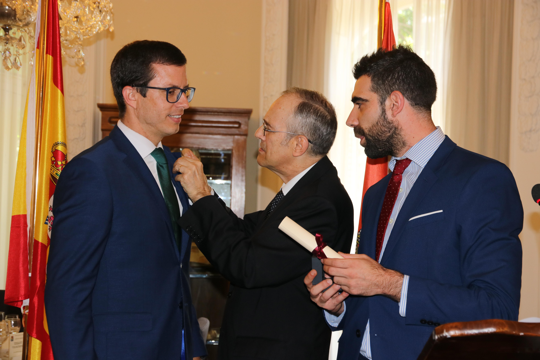 19 José Antonio Rupérez, alumno MBA Enología, Presidente del Centro Riojano