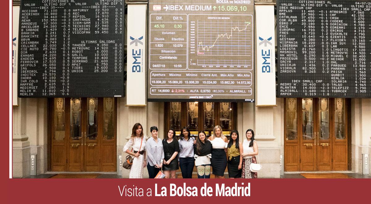 alumnos-imf-visita-la-bolsa-de-madrid Alumnos de IMF Business School han visitado La Bolsa de Madrid