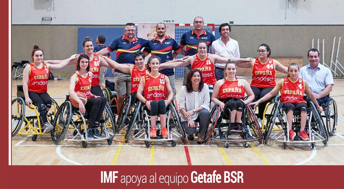 imf-apoya-getafe-bsr IMF apoya un año más a CID Casa Murcia Getafe