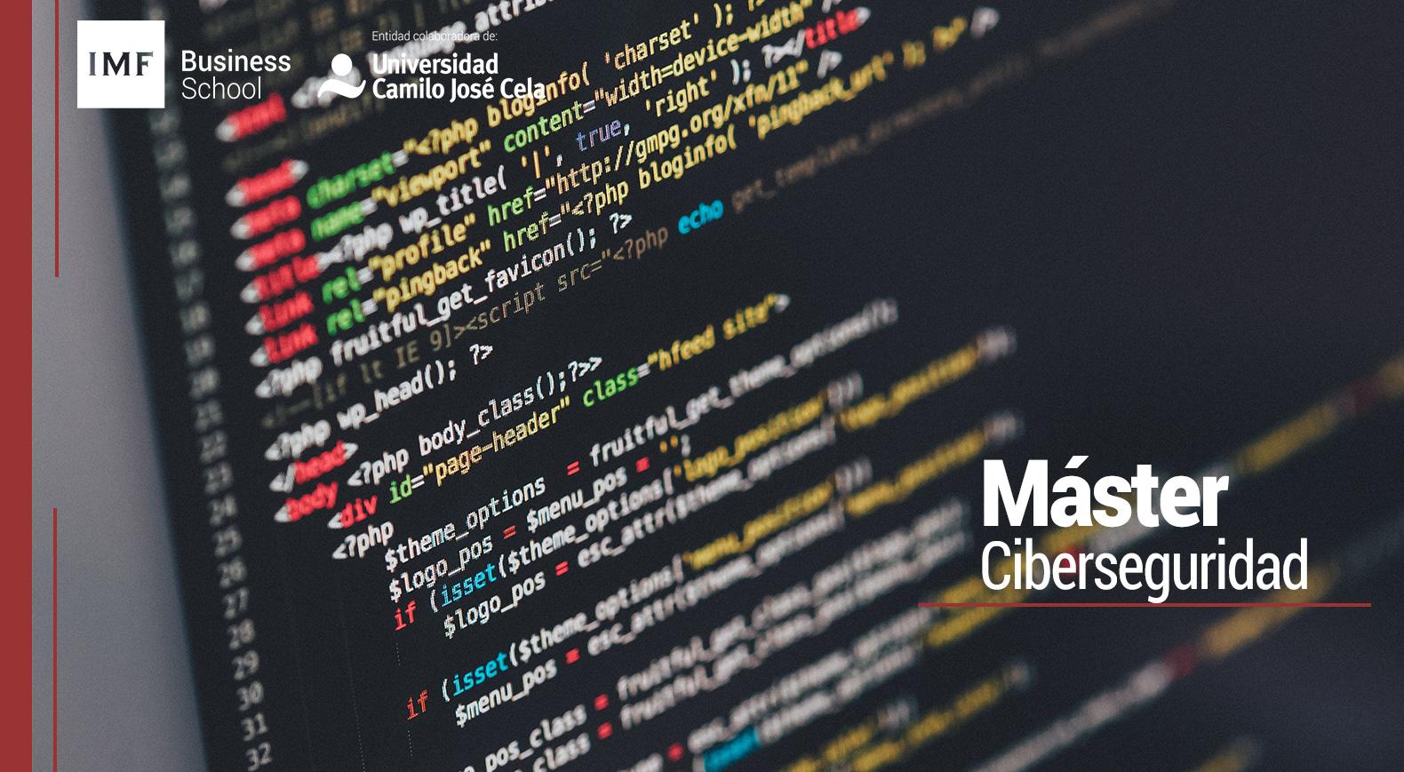 master en ciberseguridad online y semipresencial