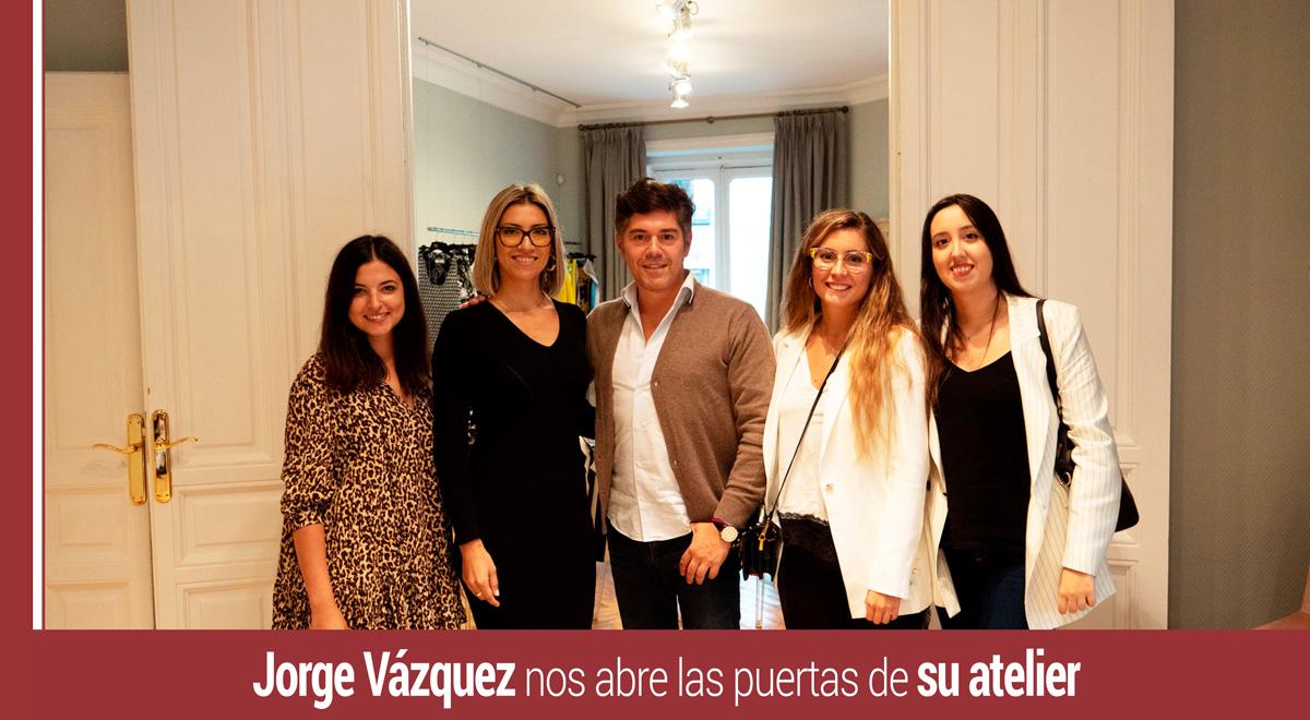 jorge-vazquez-atelier-moda Jorge Vázquez abre las puertas de su atelier a nuestros alumnos de MBA Moda