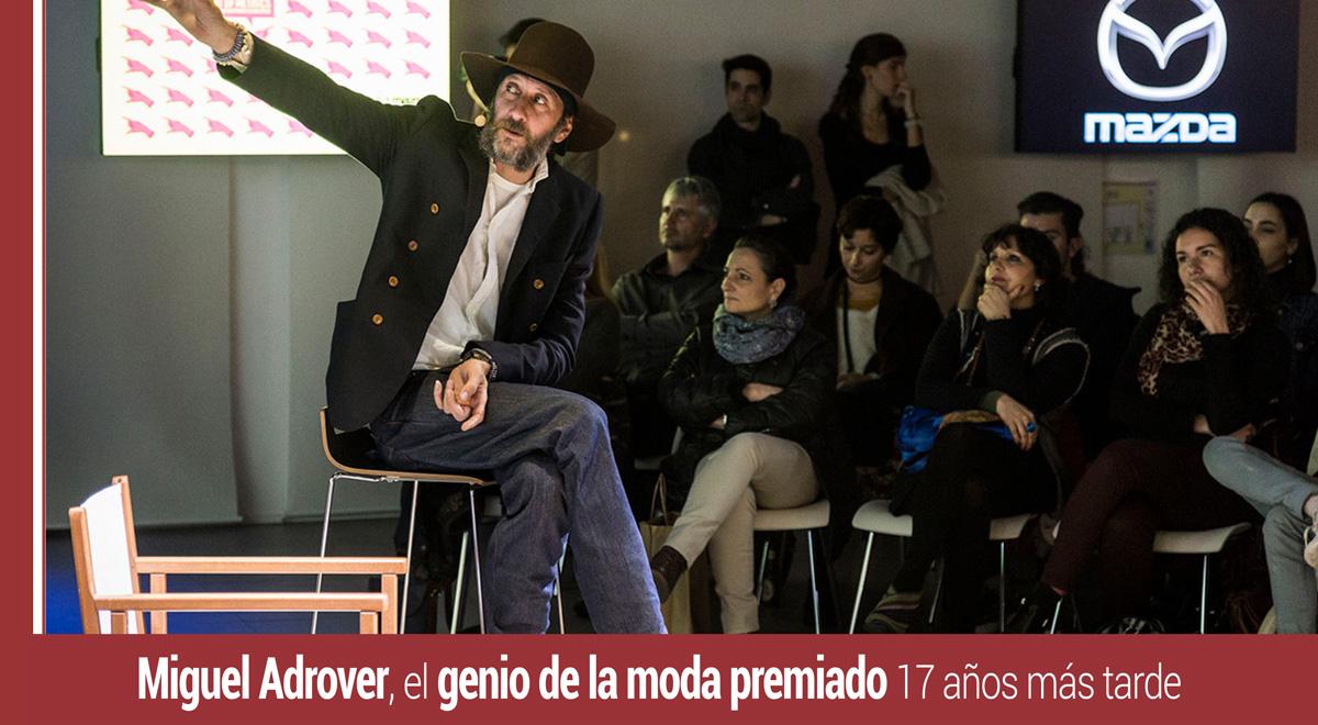miguel-adrover-premio Miguel Adrover, el genio de la moda premiado 17 años más tarde
