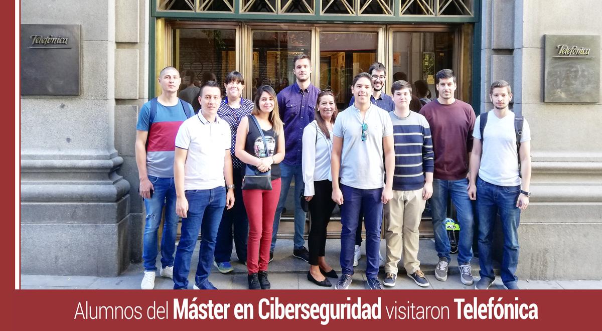 visita-ciberseguridad-telefonica Telefónica: Nuestros alumnos conocieron cómo la empresa gestiona la ciberseguridad