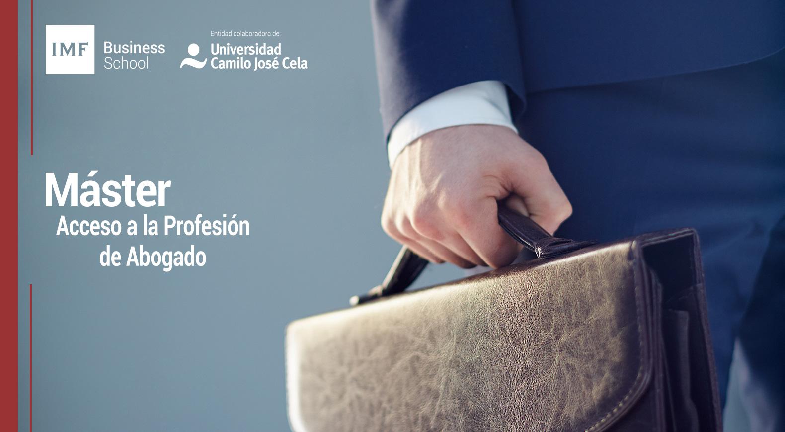 Máster Universitario en Acceso a la Profesión de Abogado
