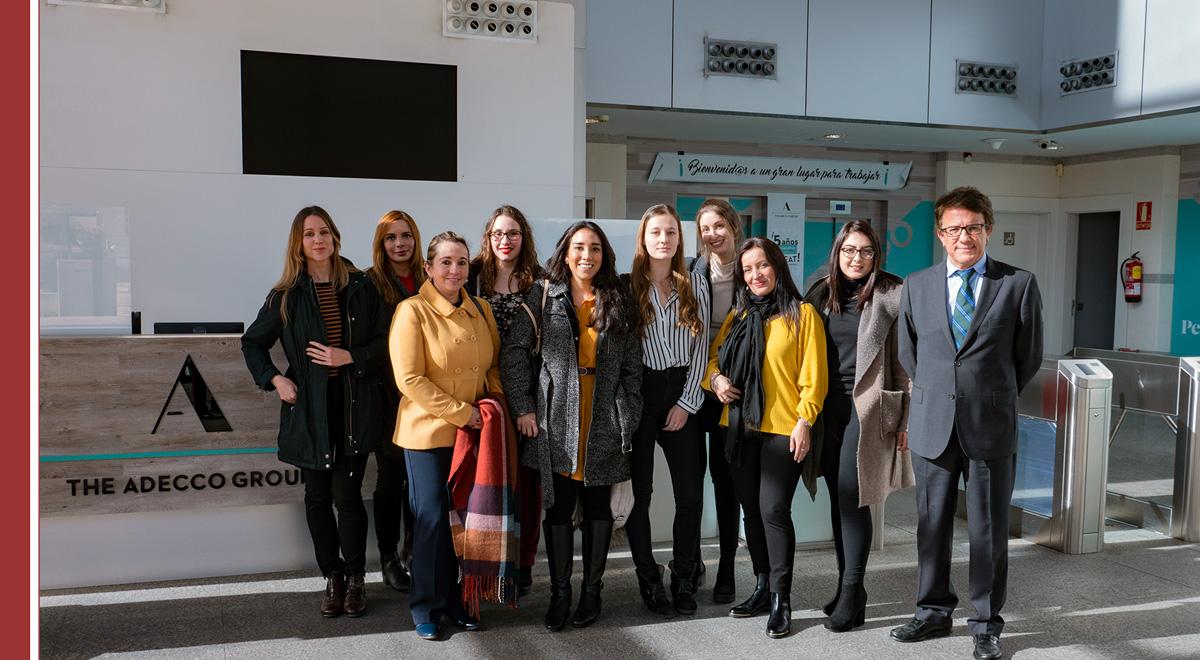 visita-alumnos-adecco-imf Aplicando lo aprendido en The Adecco Group