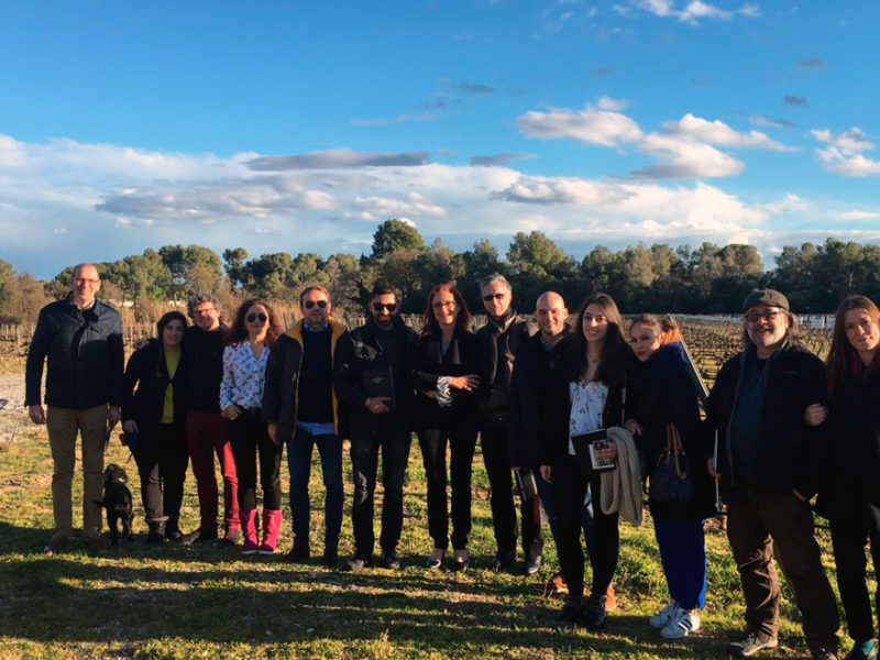 visita bodegas torres alumnos imf business school