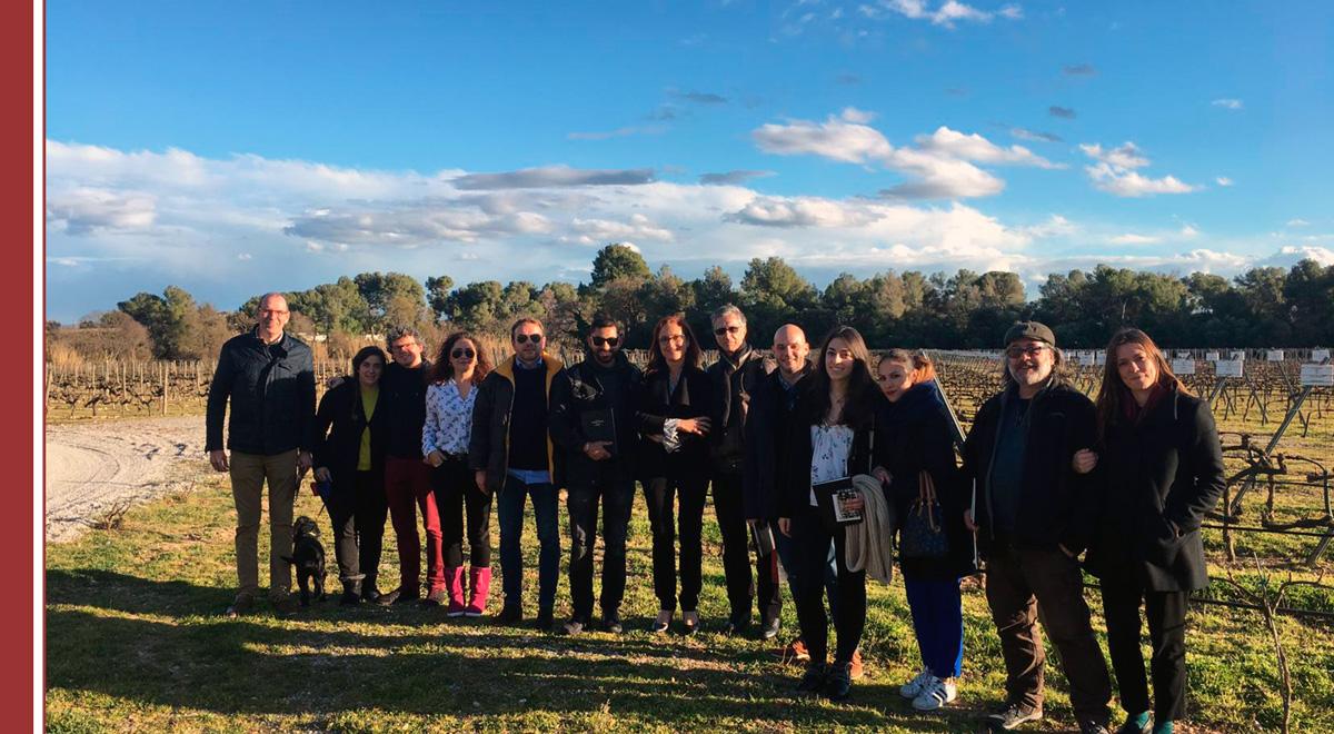visita-alumnos-bodegas-torres-imf-vino Bodegas Torres recibe a alumnos de IMF para conocer el mundo del vino