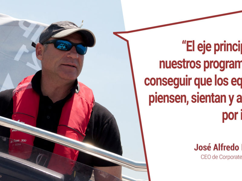 el coaching en empresas y corporate yachting