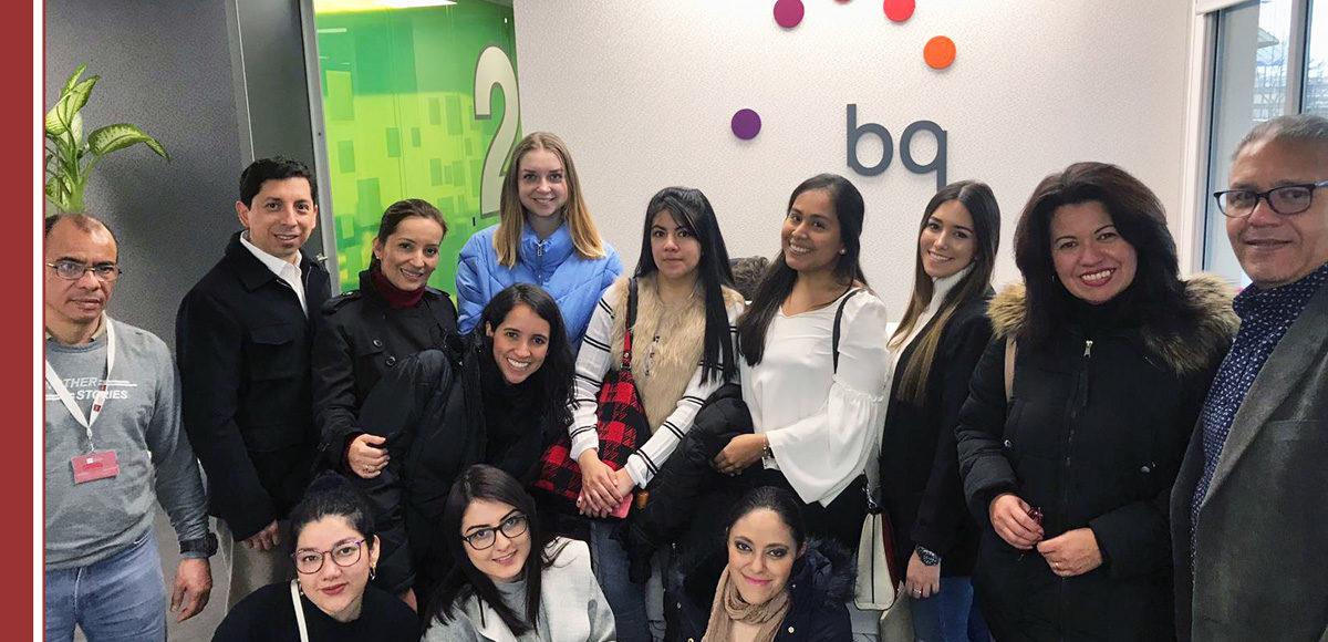 alumnos imf visitan marca bq