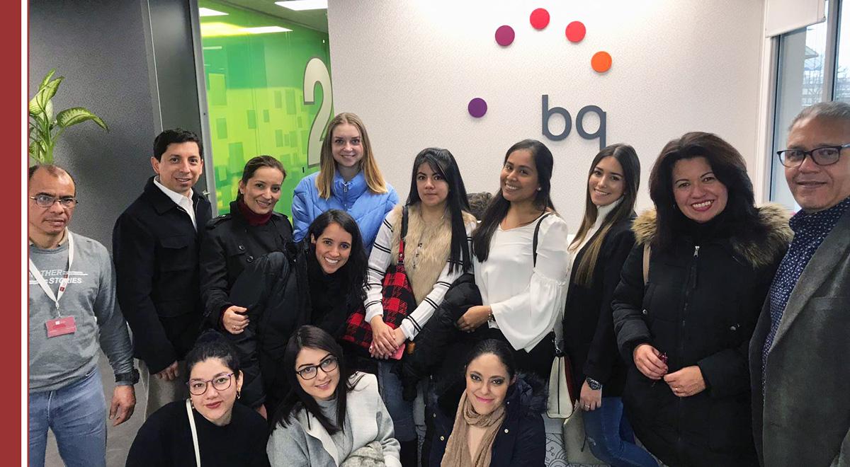 visita-alumnos-bq Alumnos de IMF conocen la evolución de BQ