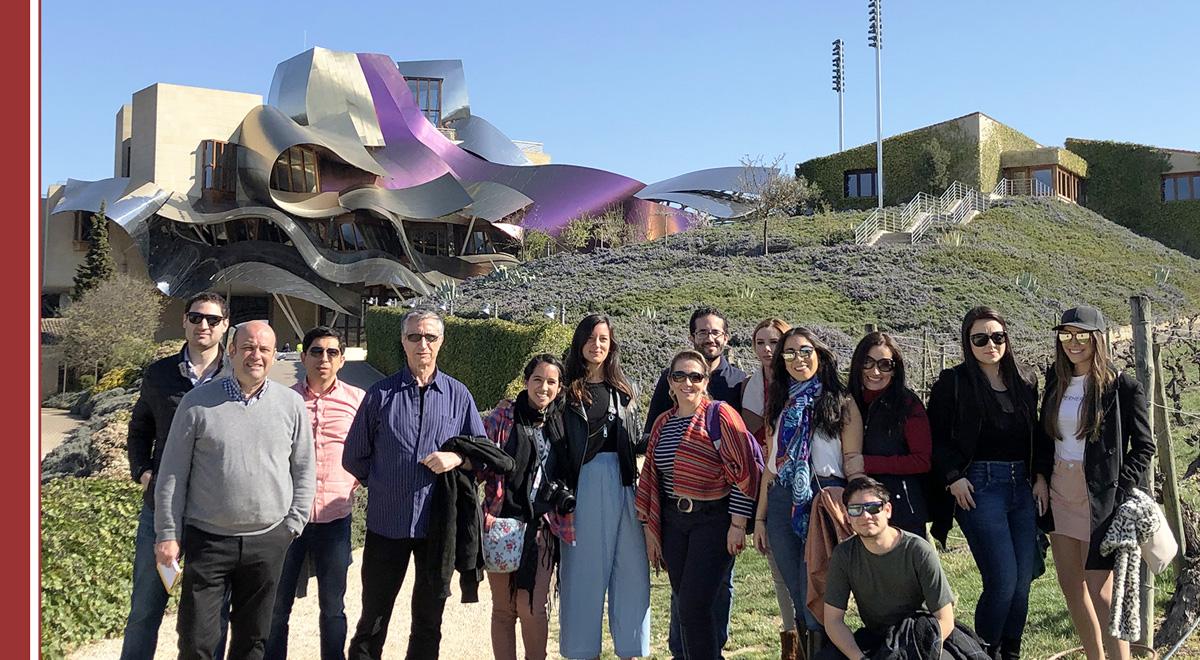 visita-marques-de-riscal-enologia Alumnos del MBA Enología de IMF visitan la Bodega Marqués de Riscal